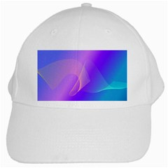 Vector Blend Screen Saver Colorful White Cap