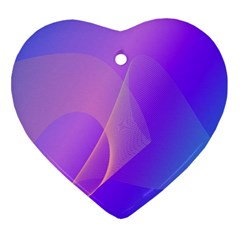 Vector Blend Screen Saver Colorful Ornament (heart)