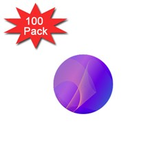 Vector Blend Screen Saver Colorful 1  Mini Buttons (100 Pack)