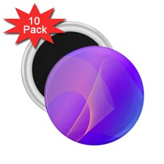 Vector Blend Screen Saver Colorful 2 25  Magnets (10 Pack)