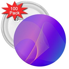 Vector Blend Screen Saver Colorful 3  Buttons (100 Pack)