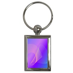 Vector Blend Screen Saver Colorful Key Chains (rectangle)