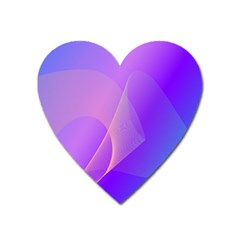 Vector Blend Screen Saver Colorful Heart Magnet