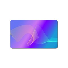 Vector Blend Screen Saver Colorful Magnet (name Card)