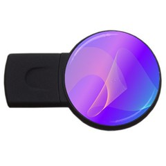 Vector Blend Screen Saver Colorful Usb Flash Drive Round (2 Gb)