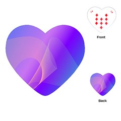 Vector Blend Screen Saver Colorful Playing Cards (heart)