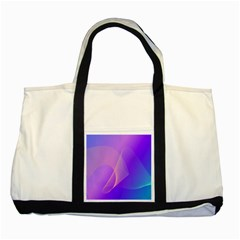 Vector Blend Screen Saver Colorful Two Tone Tote Bag