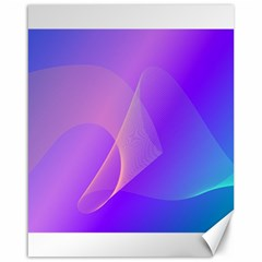 Vector Blend Screen Saver Colorful Canvas 16  X 20