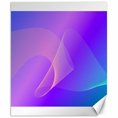Vector Blend Screen Saver Colorful Canvas 20  X 24