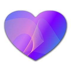 Vector Blend Screen Saver Colorful Heart Mousepads