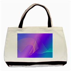 Vector Blend Screen Saver Colorful Basic Tote Bag (two Sides)