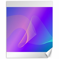 Vector Blend Screen Saver Colorful Canvas 11  X 14