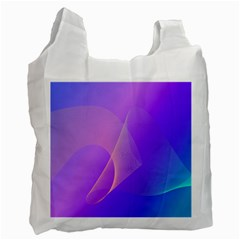 Vector Blend Screen Saver Colorful Recycle Bag (two Side)