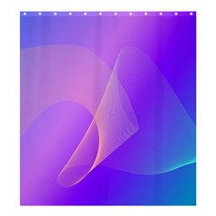 Vector Blend Screen Saver Colorful Shower Curtain 66  X 72  (large)
