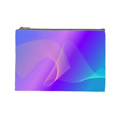 Vector Blend Screen Saver Colorful Cosmetic Bag (large)