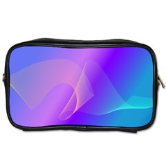 Vector Blend Screen Saver Colorful Toiletries Bags 2 Side