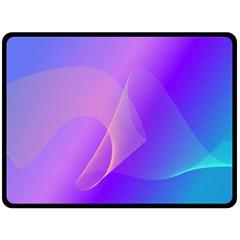 Vector Blend Screen Saver Colorful Fleece Blanket (large)