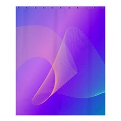 Vector Blend Screen Saver Colorful Shower Curtain 60  X 72  (medium)