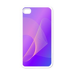 Vector Blend Screen Saver Colorful Apple Iphone 4 Case (white)