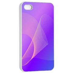 Vector Blend Screen Saver Colorful Apple Iphone 4/4s Seamless Case (white)