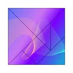 Vector Blend Screen Saver Colorful Acrylic Tangram Puzzle (6  X 6 )