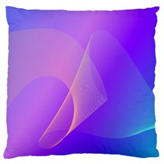 Vector Blend Screen Saver Colorful Large Cushion Case (one Side)