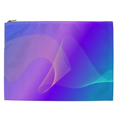 Vector Blend Screen Saver Colorful Cosmetic Bag (xxl)