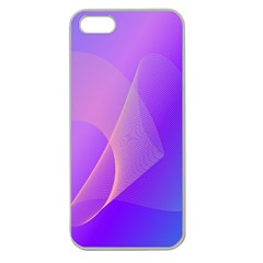 Vector Blend Screen Saver Colorful Apple Seamless Iphone 5 Case (clear)
