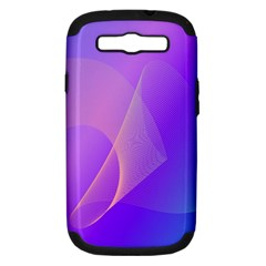 Vector Blend Screen Saver Colorful Samsung Galaxy S Iii Hardshell Case (pc+silicone)