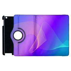 Vector Blend Screen Saver Colorful Apple Ipad 3/4 Flip 360 Case