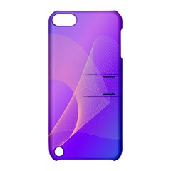 Vector Blend Screen Saver Colorful Apple Ipod Touch 5 Hardshell Case With Stand