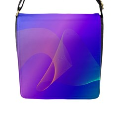 Vector Blend Screen Saver Colorful Flap Messenger Bag (l)