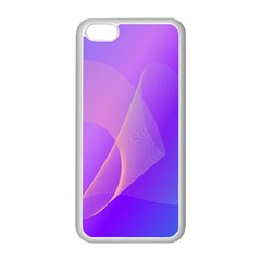 Vector Blend Screen Saver Colorful Apple Iphone 5c Seamless Case (white)