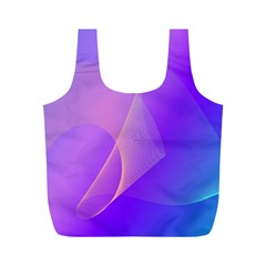 Vector Blend Screen Saver Colorful Full Print Recycle Bags (m)