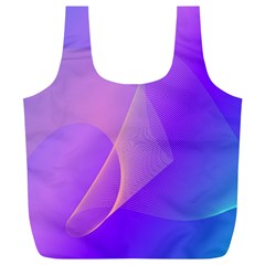 Vector Blend Screen Saver Colorful Full Print Recycle Bags (l)