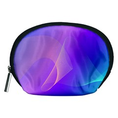 Vector Blend Screen Saver Colorful Accessory Pouches (medium)
