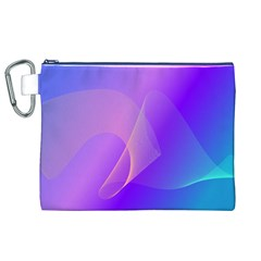 Vector Blend Screen Saver Colorful Canvas Cosmetic Bag (xl)