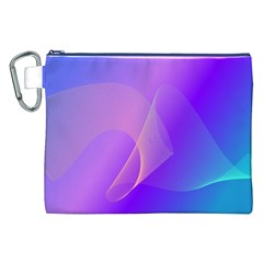 Vector Blend Screen Saver Colorful Canvas Cosmetic Bag (xxl)