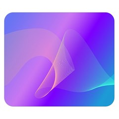 Vector Blend Screen Saver Colorful Double Sided Flano Blanket (small)