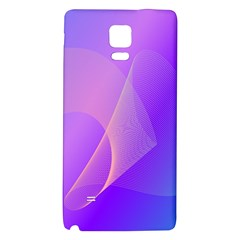 Vector Blend Screen Saver Colorful Galaxy Note 4 Back Case