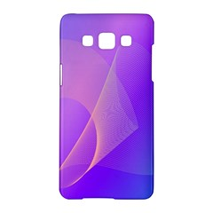 Vector Blend Screen Saver Colorful Samsung Galaxy A5 Hardshell Case