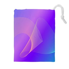 Vector Blend Screen Saver Colorful Drawstring Pouches (extra Large)