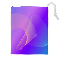 Vector Blend Screen Saver Colorful Drawstring Pouches (xxl)