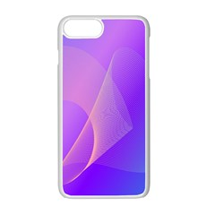 Vector Blend Screen Saver Colorful Apple Iphone 7 Plus White Seamless Case