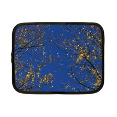 Poplar Foliage Yellow Sky Blue Netbook Case (small)