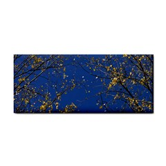 Poplar Foliage Yellow Sky Blue Cosmetic Storage Cases