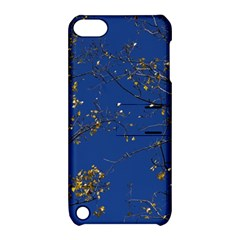 Poplar Foliage Yellow Sky Blue Apple iPod Touch 5 Hardshell Case with Stand