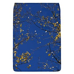 Poplar Foliage Yellow Sky Blue Flap Covers (s)