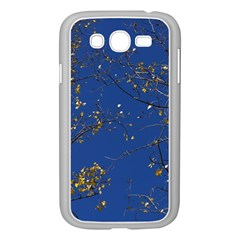 Poplar Foliage Yellow Sky Blue Samsung Galaxy Grand Duos I9082 Case (white)