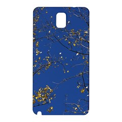 Poplar Foliage Yellow Sky Blue Samsung Galaxy Note 3 N9005 Hardshell Back Case